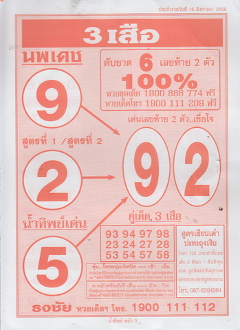 16 / 08 / 2558 MAGAZINE PAPER  - Page 3 Namtip_3
