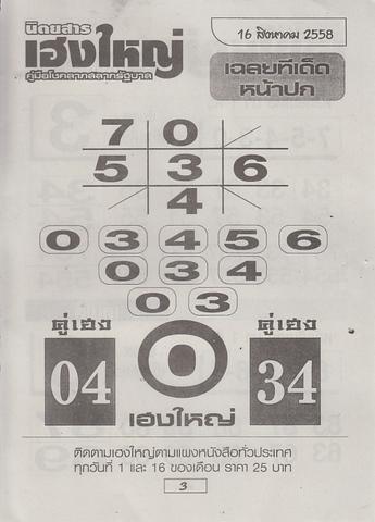 16 / 08 / 2558 MAGAZINE PAPER  Heangyai_new_book_3