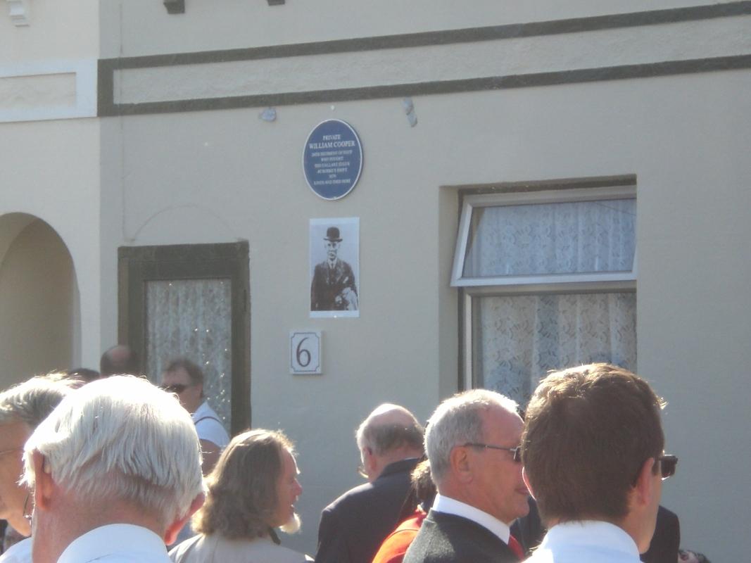 Private  William Cooper Event in Worthing Sussex CIMG3732
