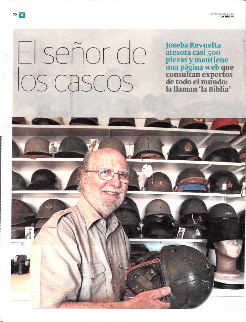 """Joseba """"en su papel"""" - www.cascoscoleccion.com Joseba_La_Rioja_20140907_001"""
