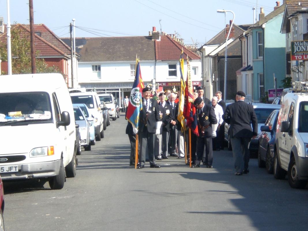 Private  William Cooper Event in Worthing Sussex CIMG3704