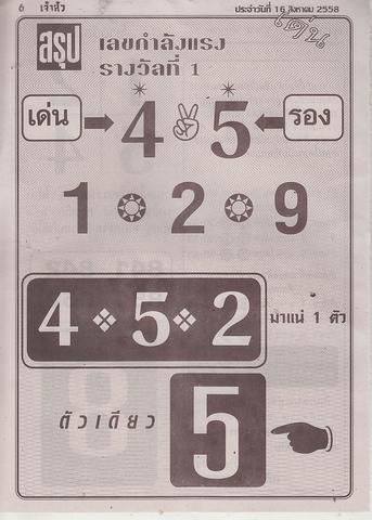 16 / 08 / 2558 MAGAZINE PAPER  Jaosure_6_1