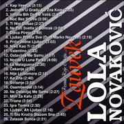 Pesme Koje Ostaju ... Zauvek  - Kolekcija Lola_Novakovic_-_Zauvek_Back