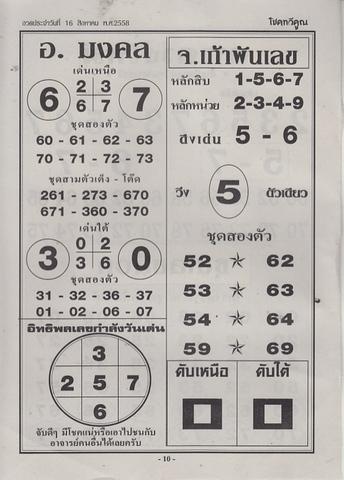 16 / 08 / 2558 MAGAZINE PAPER  Choketavekune_10