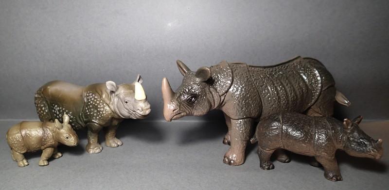 The Javan rhino from Bullyland :-) Bully_Rhino_Comp_Sch
