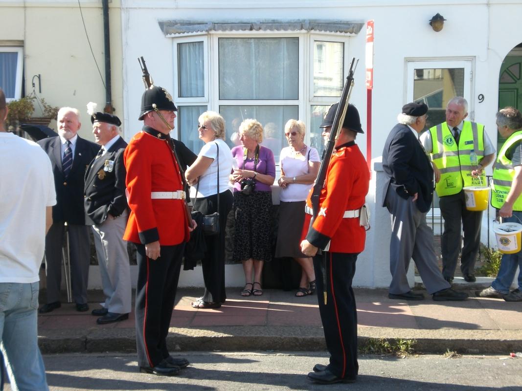 Private  William Cooper Event in Worthing Sussex CIMG3699