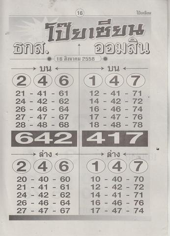 16 / 08 / 2558 MAGAZINE PAPER  - Page 3 Poiziane_16