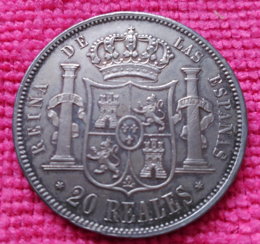 20 Reales 1855. Isabel II. Madrid IMG_20180512_164514