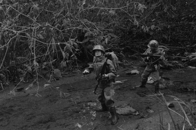 U.S. Army in Bang Sathanthi Vintage3