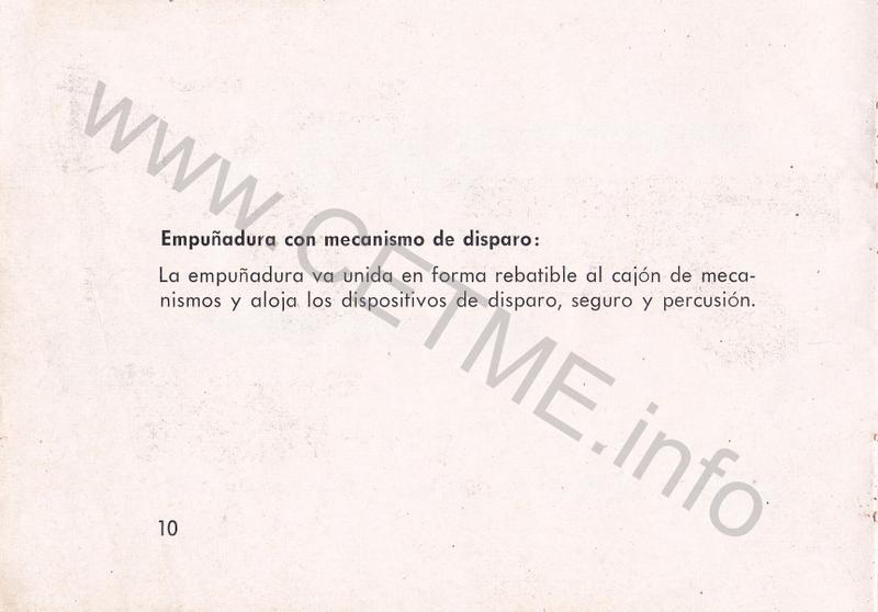 1956 - DESCRIPCION ABREVIADA DEL FUSIL DE ASALTO CETME - CETME A-2a  1956_CETME_A-2a_FORO_012
