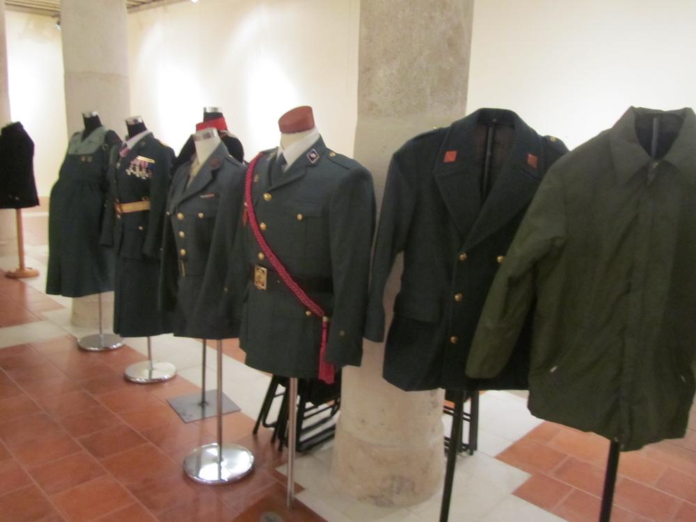Exposicion de La Guardia Civil, Museo Villa Señor de Ciudad Real. 14 de Junio - 20 de Julio, 2013. Expo_GC_009_preparativos