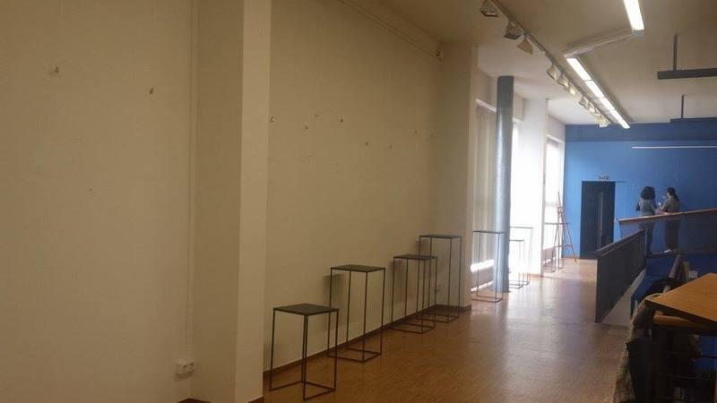 La preparación en el centro cultural. 12910424_1187287747948143_1648126585_n