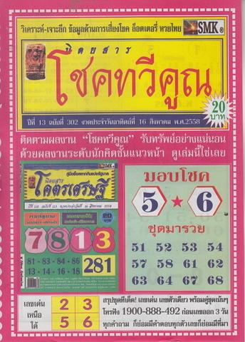 16 / 08 / 2558 MAGAZINE PAPER  Choketavekune_1