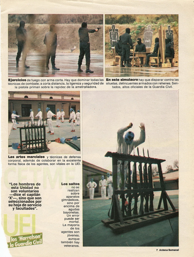 "UEI - Los ""Harrelson"" de la Guardia Civil. Antena Semanal, 02 Diciembre 1984 Antena_Semanal_021284_pp007"