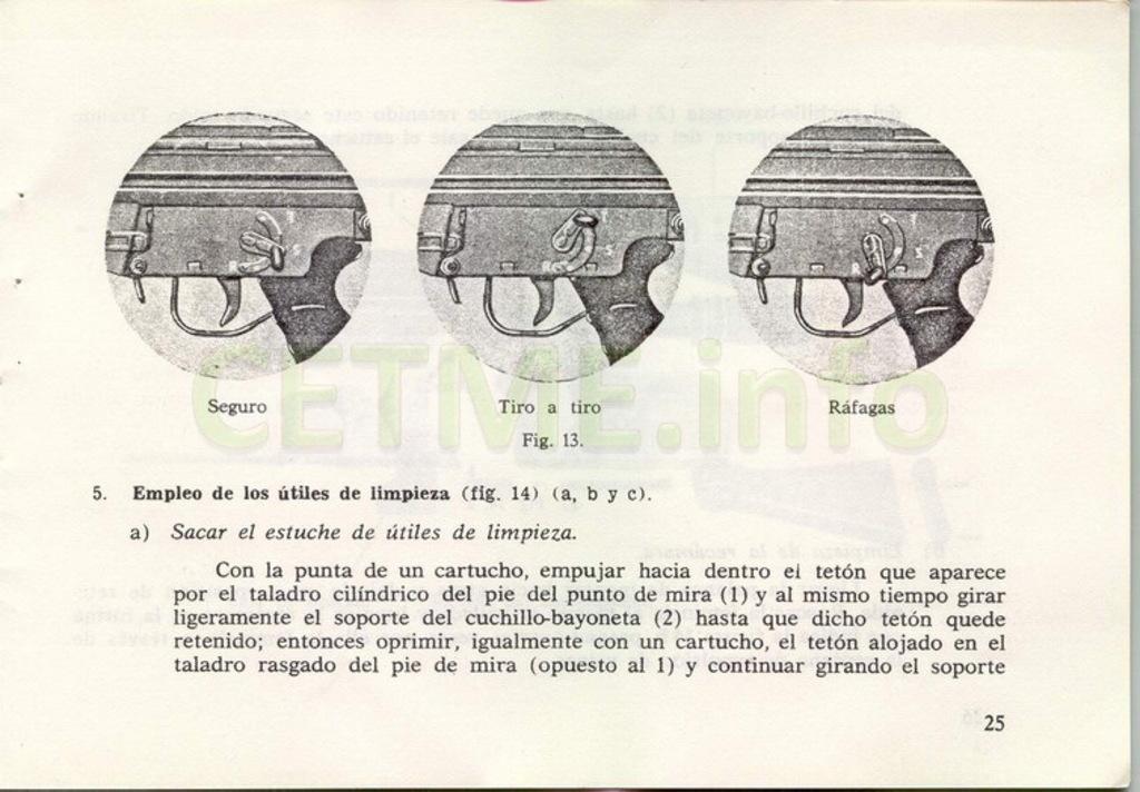 "Manual CETME C ""Santa Bárbara"" 1º Modelo. Manual_p25"