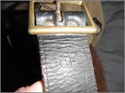 CF stamped leather belt+44 patt type canteen carrier. DSCF0293