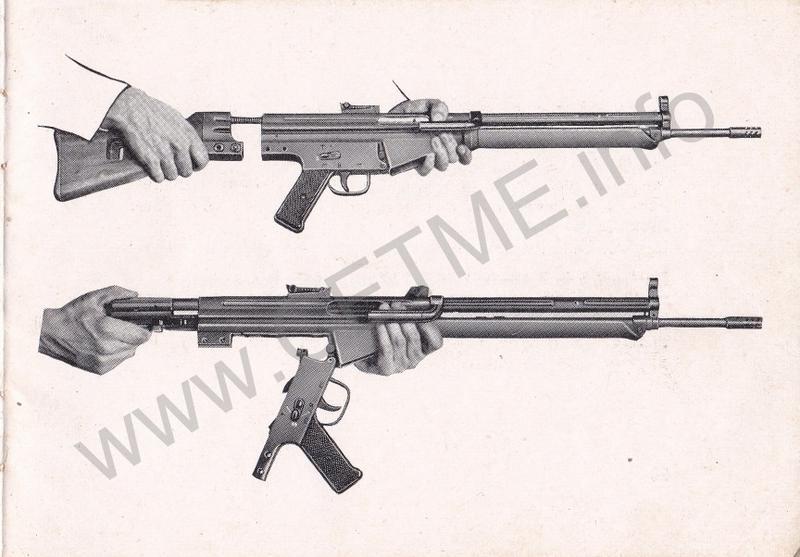 1956 - DESCRIPCION ABREVIADA DEL FUSIL DE ASALTO CETME - CETME A-2a  1956_CETME_A-2a_FORO_029