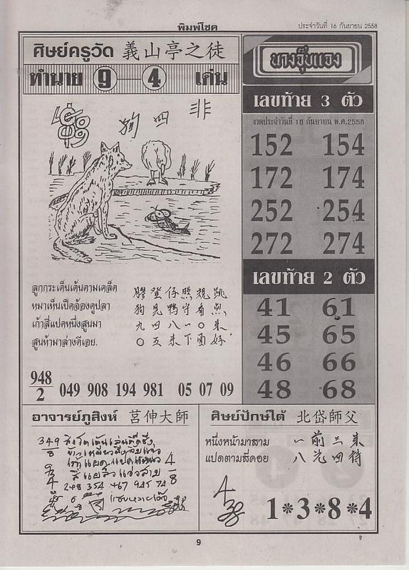 16 / 09 / 2558 FIRST PAPER . Pimchoke_9