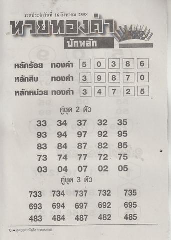 16 / 08 / 2558 MAGAZINE PAPER  Huaythongkam_6