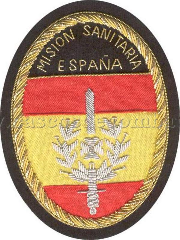 ESPAÑOLES EN VIETNAM - Historia, Cascos y Uniformes. Distintivos_y_emblemas_misionsanitaria_003_Antonio_Prieto_Barrio