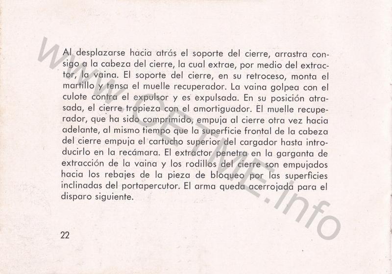 1956 - DESCRIPCION ABREVIADA DEL FUSIL DE ASALTO CETME - CETME A-2a  1956_CETME_A-2a_FORO_024