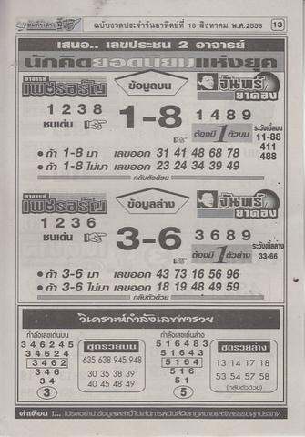 16 / 08 / 2558 MAGAZINE PAPER  Comepeesedtee_13
