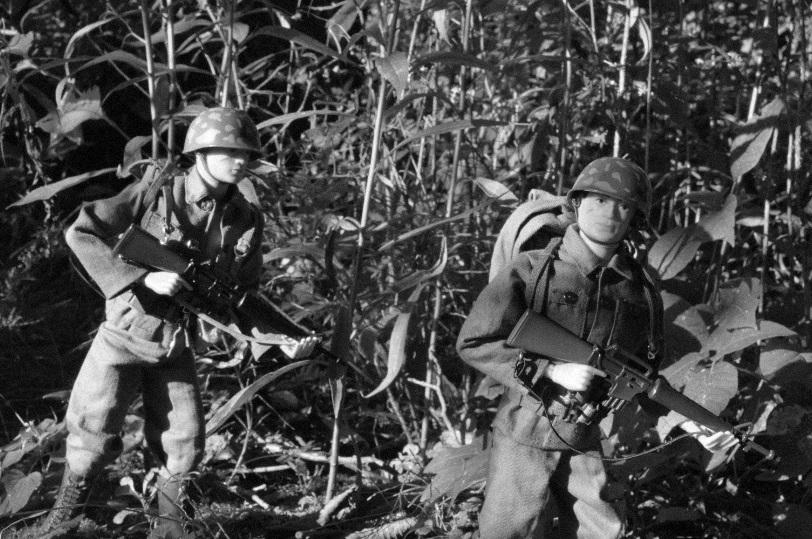 U.S. Army in Bang Sathanthi Vintage1