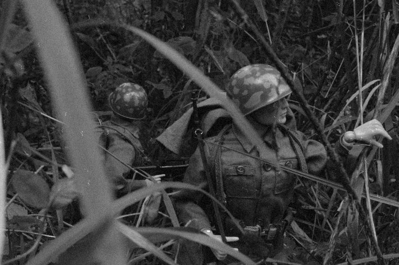 U.S. Army in Bang Sathanthi Vintage4