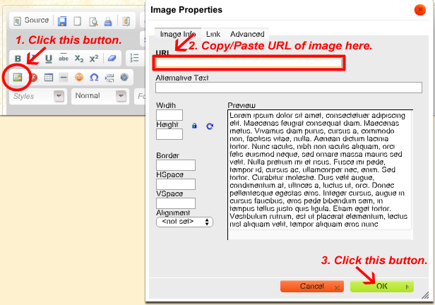 How to Add Image to Profile or IGM Addpicture