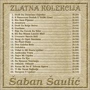 Zlatna kolekcija edicija - Kolekcija Saban_Saulic_2014_-_Zlatna_Kolekcija_Zadnja