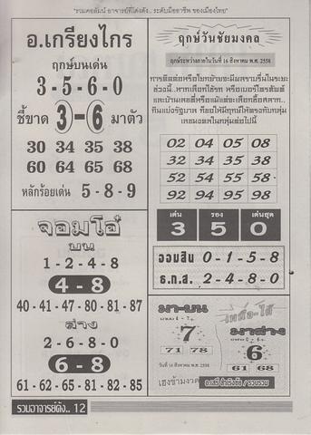 16 / 08 / 2558 MAGAZINE PAPER  - Page 3 Ruamajandang_12