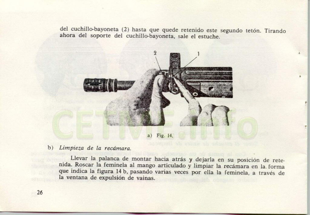 "Manual CETME C ""Santa Bárbara"" 1º Modelo. Manual_p26"