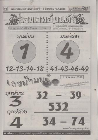 16 / 08 / 2558 MAGAZINE PAPER  Comepeesedtee_16