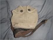 CF stamped leather belt+44 patt type canteen carrier. DSCF0292