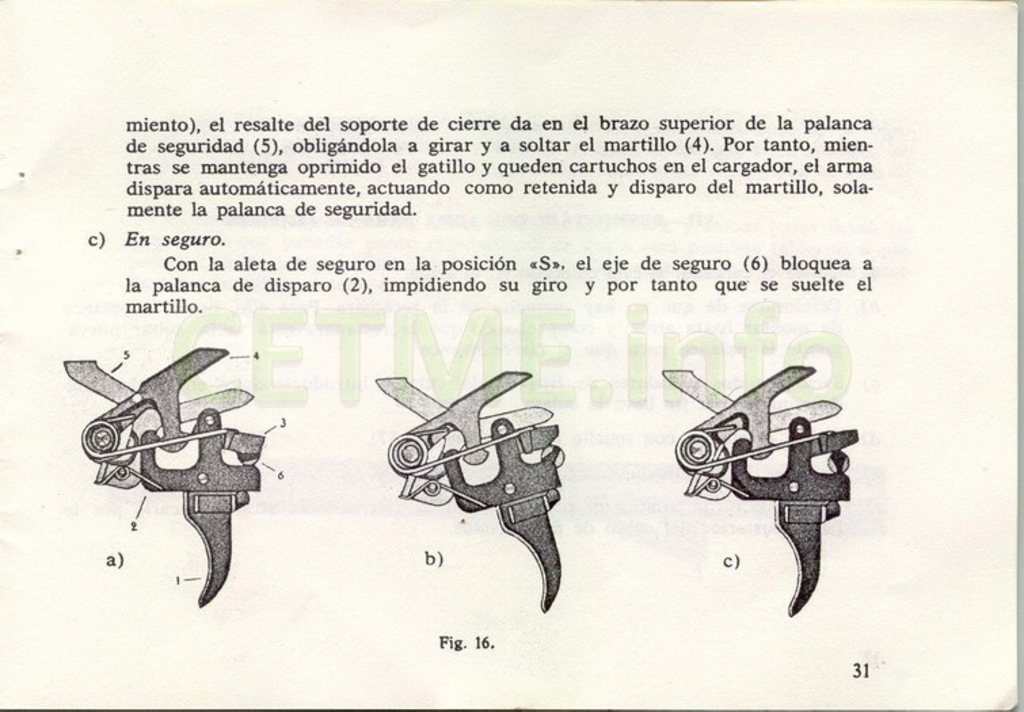 "Manual CETME C ""Santa Bárbara"" 1º Modelo. Manual_p31"