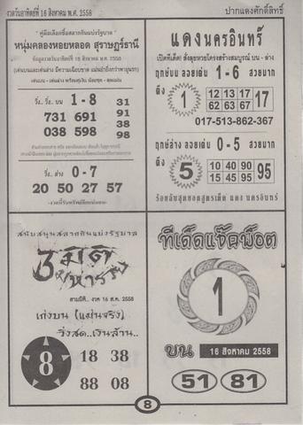 16 / 08 / 2558 MAGAZINE PAPER  - Page 3 Pakdangdsaksit_8