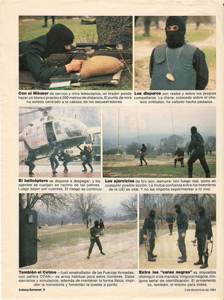 "UEI - Los ""Harrelson"" de la Guardia Civil. Antena Semanal, 02 Diciembre 1984 Antena_Semanal_021284_pp006"