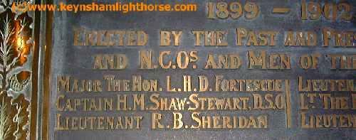 The Keynsham Light Horse Part 2 Lhdfortescue_17labw_ald