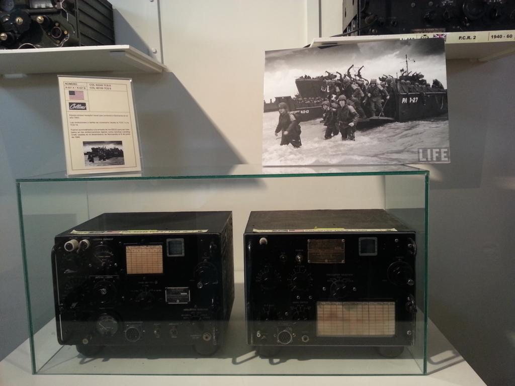 """Quedada casquera... Belorado, 04-X-14. Museo de Radiotransmisiones """"Inocencio Bocanegra"""" 20141004_124623"""