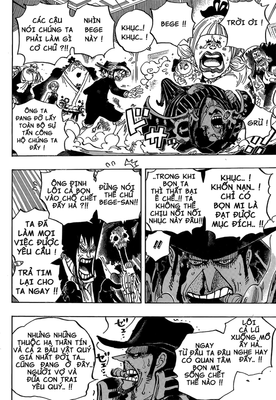 [BẢN VIỆT] One Piece Chapter 870: Chia ly Image