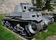 Немецкий легкий танк PzKpfw 35(t) (LT vz.35). Военный музей в замке Калемегдан, г.Белград SG201766
