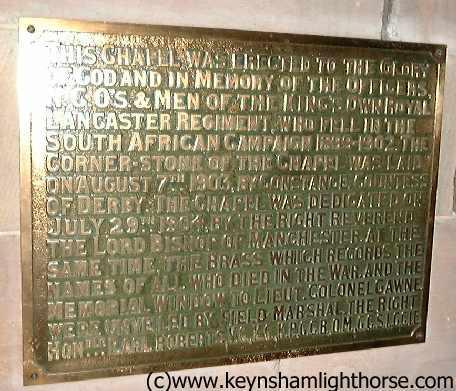 The Keynsham Light Horse Part 2 Gawne_reglt