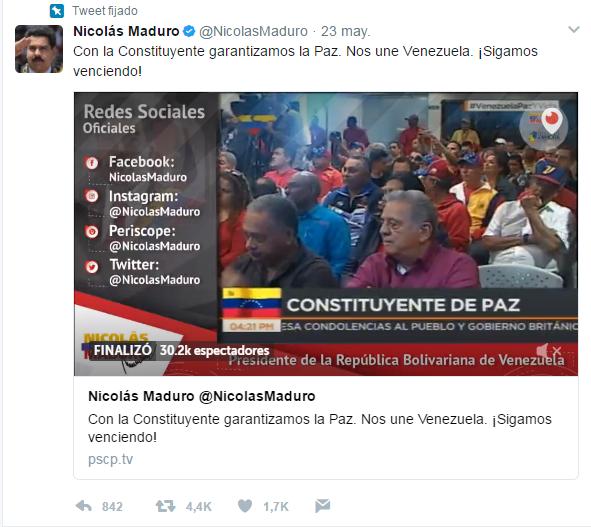 Presidente Maduro firmó decreto para convocar Poder Constituyente - Página 2 2017-05-24_21_23_38-_Nicol_s_Maduro_Nicolas_Madu