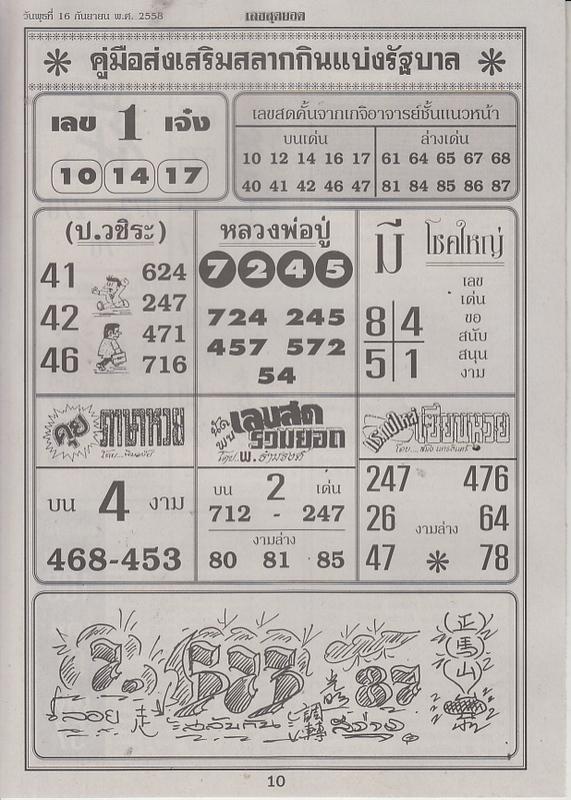 16 / 09 / 2558 FIRST PAPER . Leksudyod_10