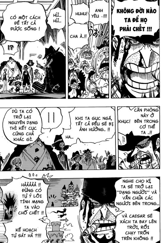 One Piece Chapter 870: Chia ly Image