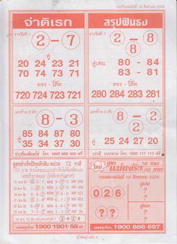 16 / 08 / 2558 MAGAZINE PAPER  - Page 3 Namtip_5_1