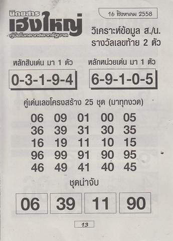 16 / 08 / 2558 MAGAZINE PAPER  Heangyai_new_book_13