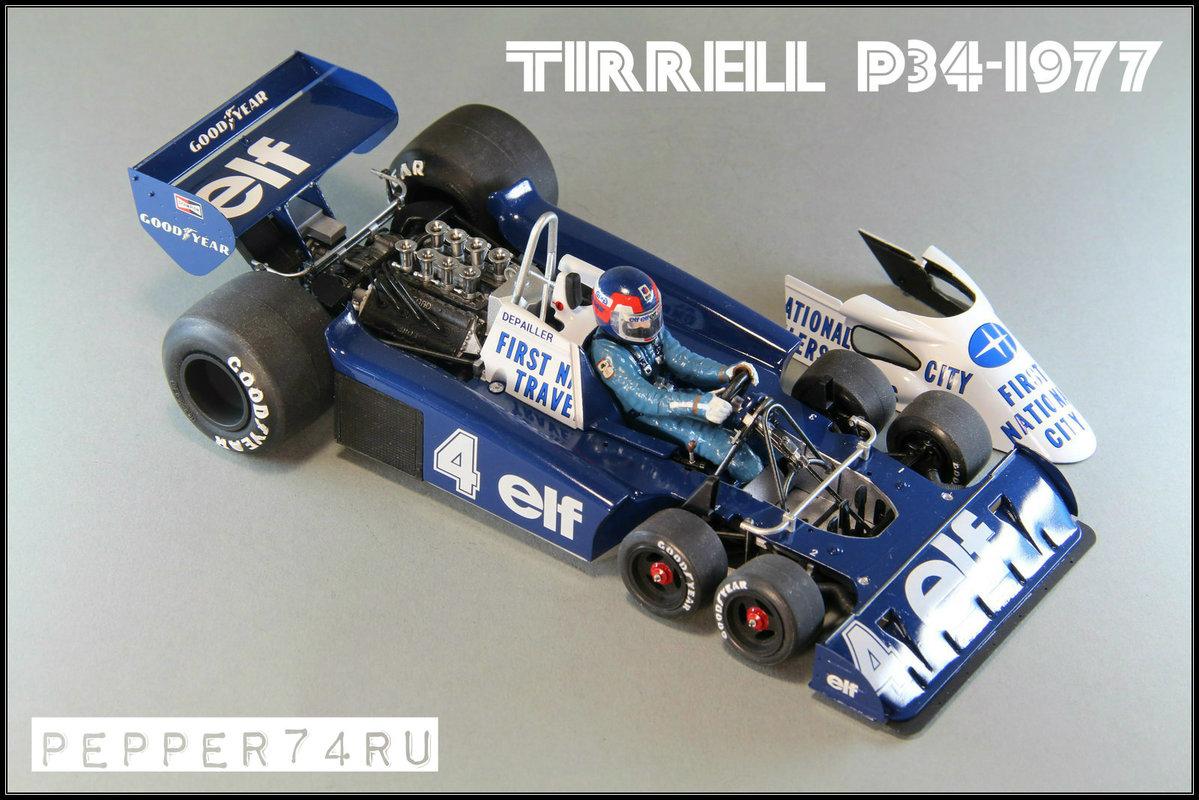 Tyrrell P34 1977 Monaco GP Tirrel_0008