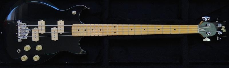 Fender JazzBass BlackTop  DSC05863