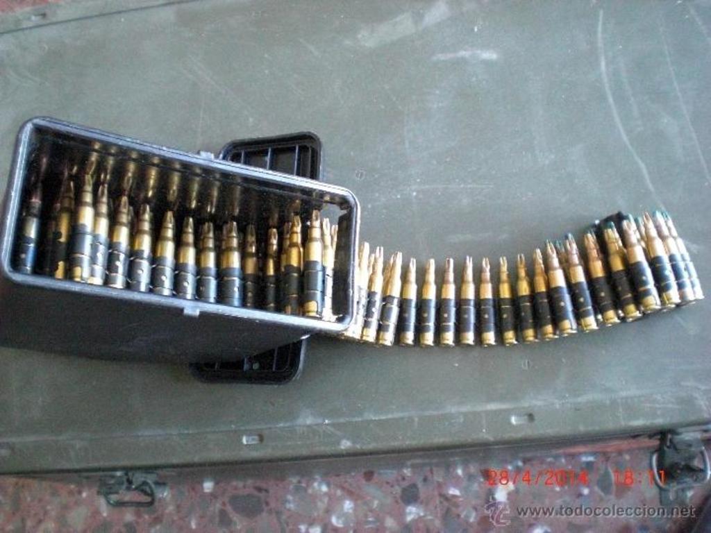 Cargador de plástico para munición de fogueo Minimi/M249. ¿Posible uso en la AMELI? 43058431